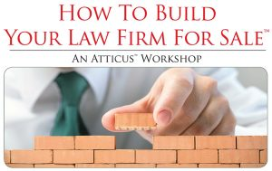 How to Build Your Law Firm for Sale